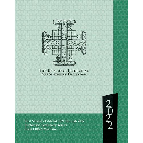 2022 EPISCOPAL LITURGICAL APPOINTMENT CALENDAR