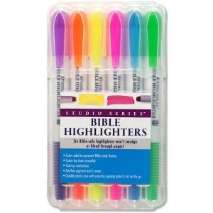 BIBLE HIGHLIGHTERS SET OF 6