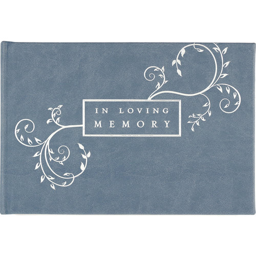 FUNERAL GUEST BOOK IN LOVING MEMORY