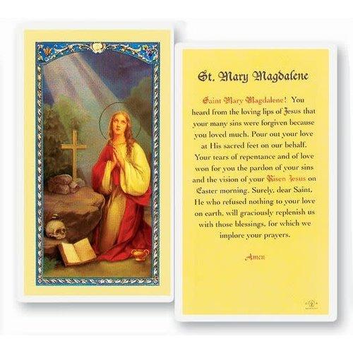 ST MARY MAGDALENE PRAYER CARD