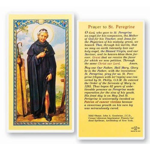 ST PEREGRINE PRAYER CARD