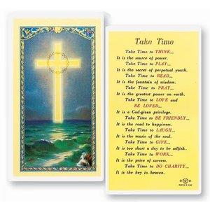 TAKE TIME PRAYER CARD