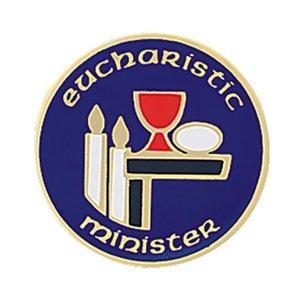 EUCHARISTIC MINISTER LAPEL PIN EPISCOPAL SHIELD