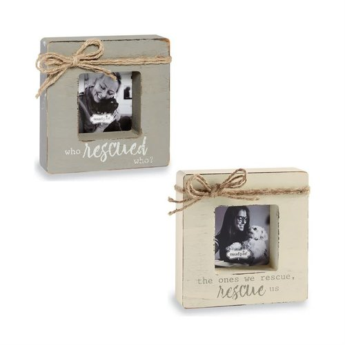 PET RESCUED FRAME - GRAY