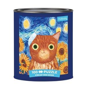 Vincat van Gogh Artsy Cats Puzzle
