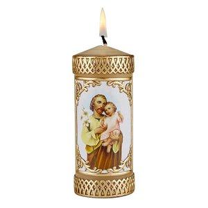 Saint Joseph & Child Devotional Candle