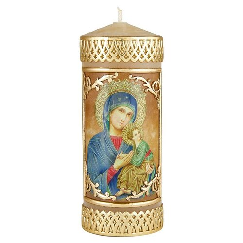 Our Lady of Perpetual Help Devotional Candle