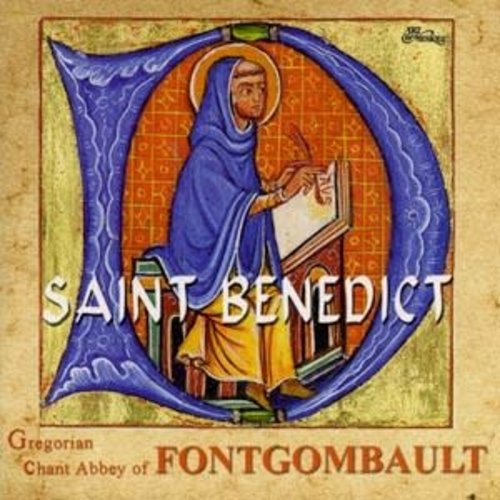 CD SAINT BENEDICT GREGORIAN CHANT by Abbey of Fontgombault