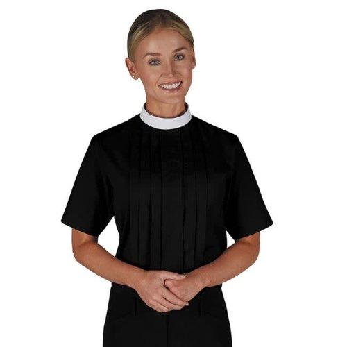 Women's Short Sleeve Clergy Shirt