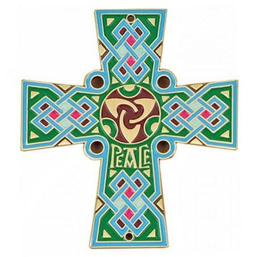 CELTIC CROSS 'PEACE' - DOOR SIGN OR WALL CROSS