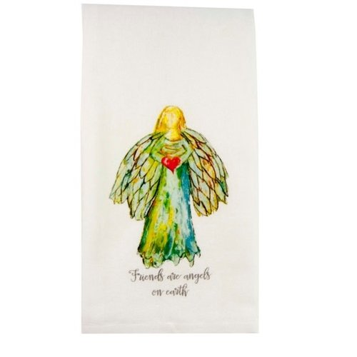 Towel Colorful Angel with Quote by French Graffiti