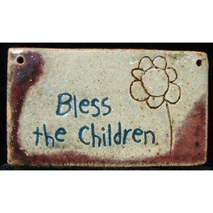 PLAQUE SM RECT BLESS CHILDREN