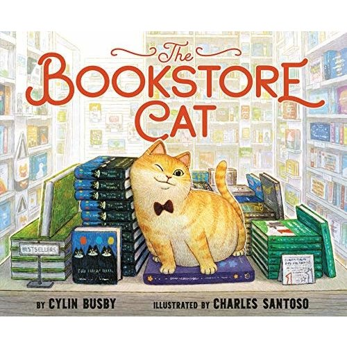 BUSBY, CYLIN BOOKSTORE CAT by CYLIN BUSBY