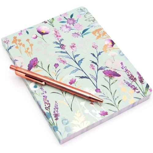 JOURNAL WITH PEN LILAC & SAGE