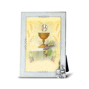 FRAME COMMUNION CHALICE PEARLIZED