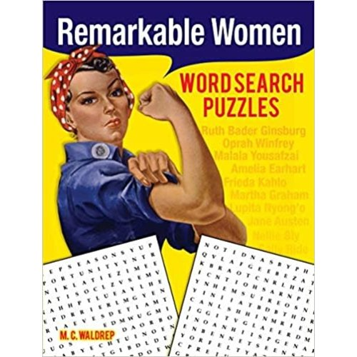 WALDREP, M. C. REMARKABLE WOMEN WORD SEARCH PUZZLES by M. C. WALDREP