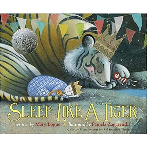 LOGUE, MARY SLEEP LIKE A TIGER by MARY LOGUE