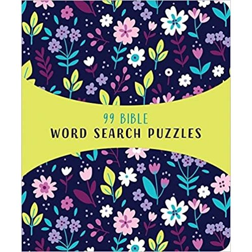 99 BIBLE WORD SEARCH PUZZLES by BARBOUR STAFF (compiled)