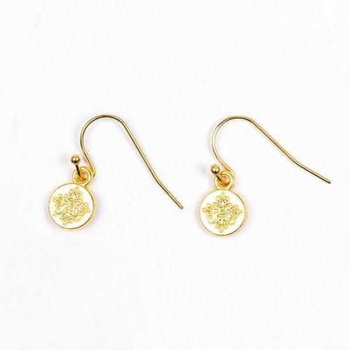 MY SAINT MY HERO Joy Earrings - Gold