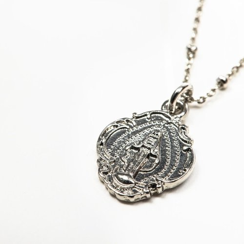 MY SAINT MY HERO Miraculous Petite Necklace - Silver