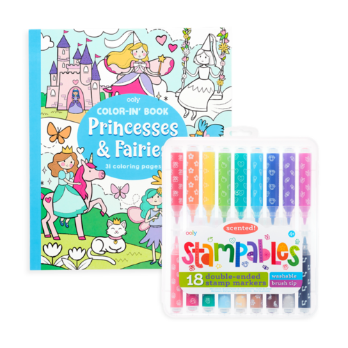 Princesses & Fairies Stampables Color Pack