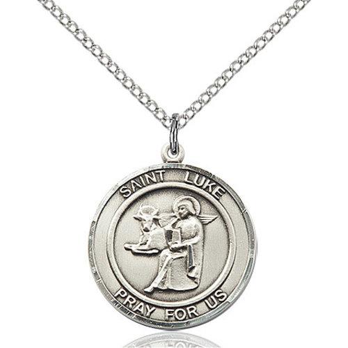 Bliss St. Luke the Apostle Pendant, Sterling Silver