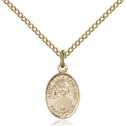 Bliss St. Luke the Apostle Pendant, 14kt Gold Filled
