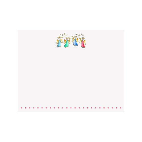 ANGELS Flat Note Cards Box of 8