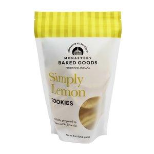 SIMPLY LEMON COOKIES 8 oz. by MONASTERY BAKED GOODS