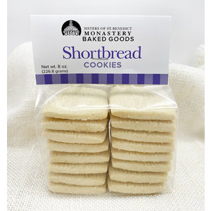 SHORTBREAD COOKIES 8 oz. by MONASTERY BAKED GOODS