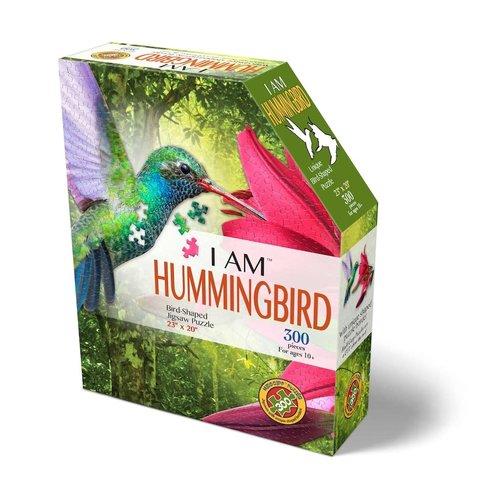 MADD CAPP 300 Piece Puzzle I AM HUMMINGBIRD