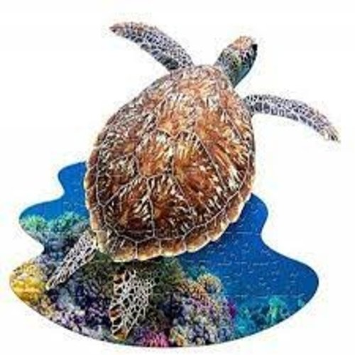 MADD CAPP 100 Piece POSTER Puzzle IM A LIL SEA TURTLE