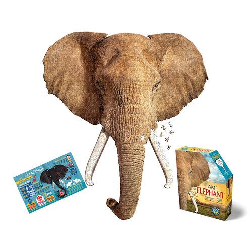 MADD CAPP 700 Piece Puzzle I AM ELEPHANT