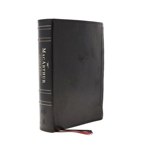 MACARTHUR, JOHN ESV, MACARTHUR STUDY BIBLE, 2ND EDITION, LEATHERSOFT, BLACK