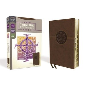 Zondervan NRSV, Thinline Reference Bible, Comfort Print by ZONDERVAN