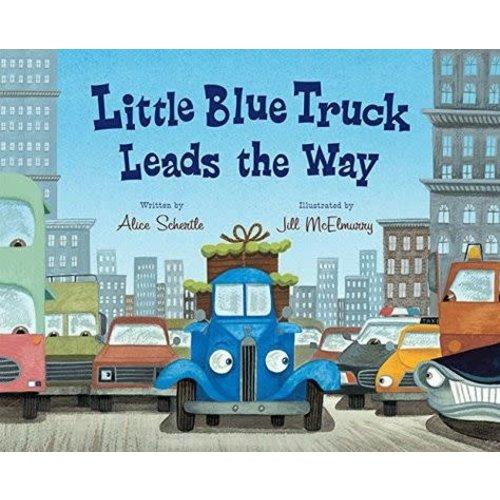 Little Blue Truck Leads the Way - Board Book by ALICE SCHERTLE