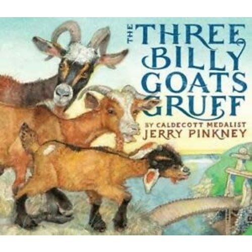 PINKNEY, JERRY THREE BILLY GOATS GRUFF by JERRY PINKNEY