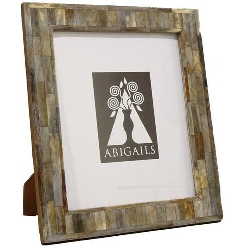 Inlaid Frame, Gray Bone, 8X10 Photo