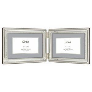 FRAME SILVER DOUBLE BEADED 4X6