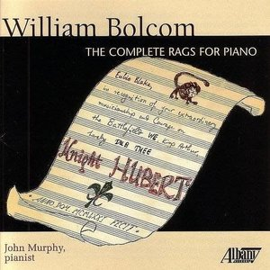 COMPLETE RAGS FOR PIANO by WILLIAM BALCOM, pianist JOHN MURPHY (2 DISCS)