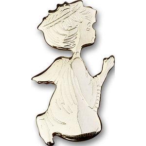 Bliss Angel Visor Clip,Gold Plate
