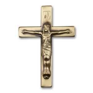 Bliss Crucifix Visor Clip, Antique Gold