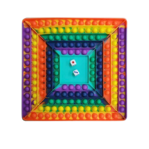 JUMBO POPPERS GAME BOARD, SQUARE