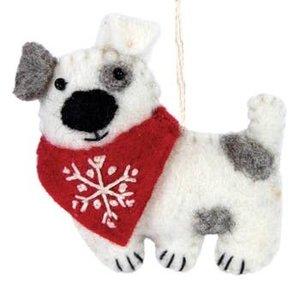 Felt Ornament Patches Dog