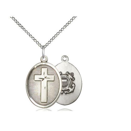 Bliss Cross / Coast Guard Pendant, Sterling Silver