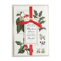 Botanical Boxed Christmas Cards  by ANNA GRIFFIN