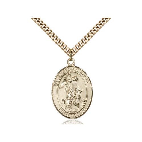 Bliss Guardian Angel/Paratrooper Pendant, 14kt Gold Filled