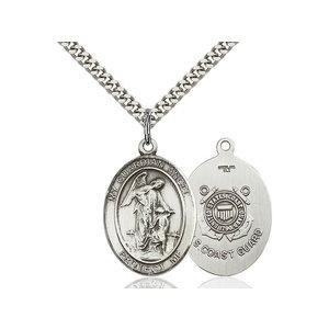 Bliss Guardian Angel / Coast Guard Pendant, Sterling Silver