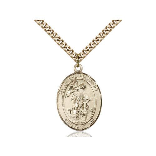 Bliss Guardian Angel / Paratrooper Pendant, 14kt Gold Filled