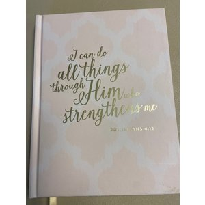 C. R. Gibson I Can Do All Things Through Him Who Strengthens Me Journal